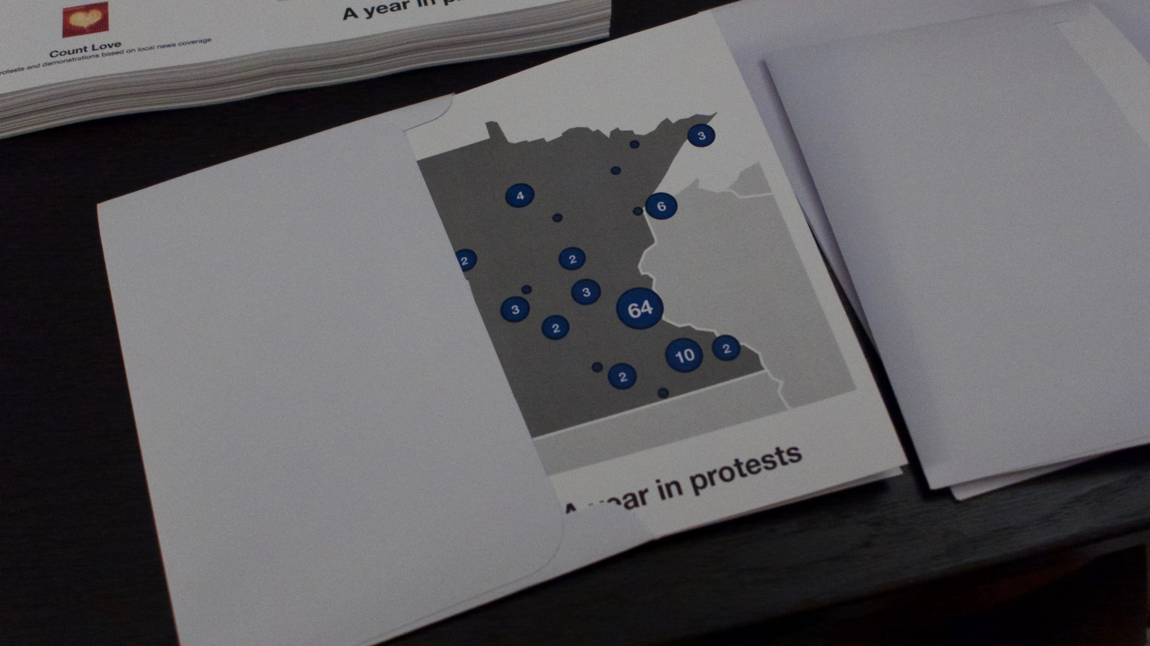 Minnesota Protest Card